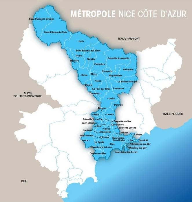 Métropole - Nice Côte Azur