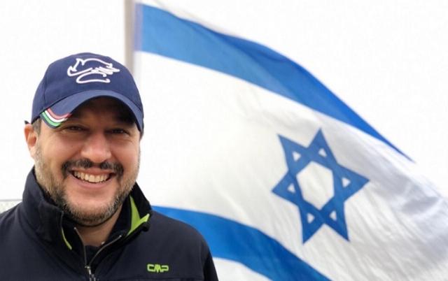 Salvini - Israël - Jérusalem