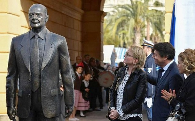 Statue Jacques Chirac - Nice