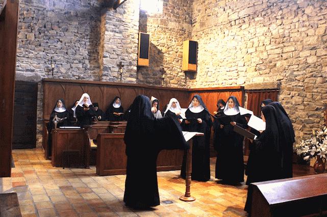Abbaye Rosans - Chants sœurs