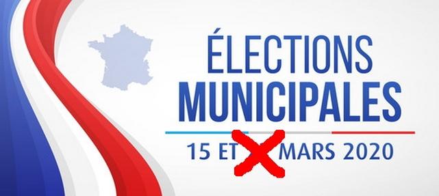 Élections municipales - mars 2020