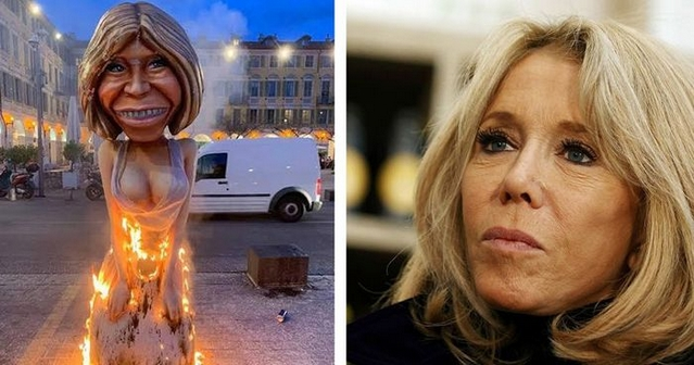 Brigitte Macron - Carnaval Nice