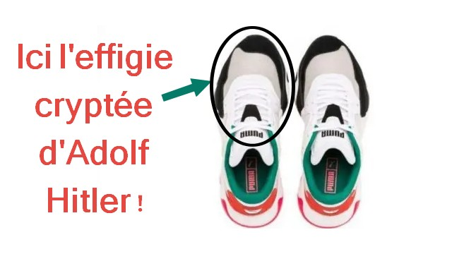Chaussures Puma-Hitler
