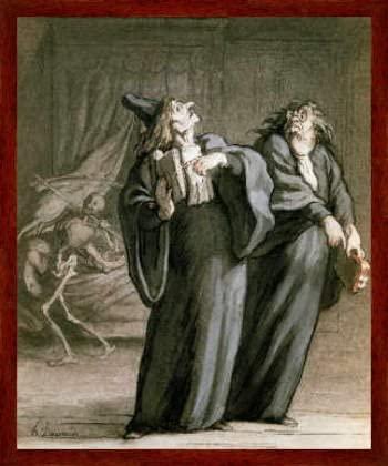 Daumier Docteurs et médecins