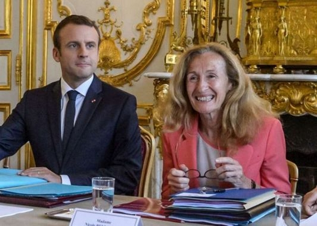 Macron - Belloubet