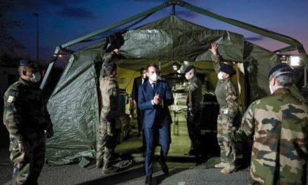 Opération «Résilience»: le ravi de la tente