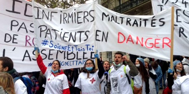 Manifestation infirmiers