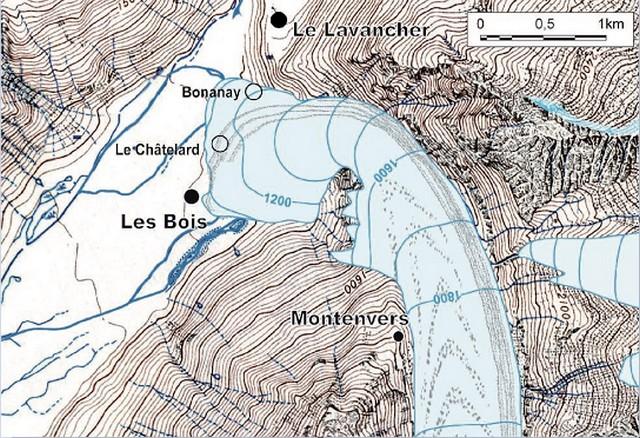 Mer Glace Petit Âge Glaciaire