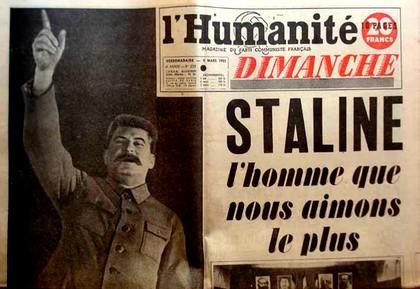 Mort Staline - Humanité