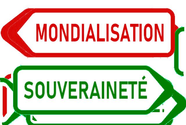 Panneau Mondialisation - Souveraineté