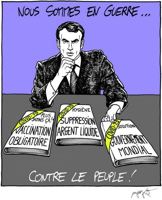 ProjetKO - Macron - Nous sommes en guerre