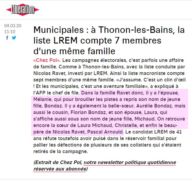 Thonon-les-Bains-liste macroniste