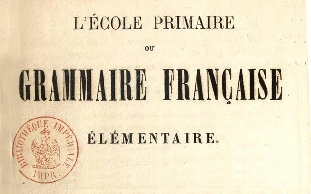 École_primaire_Grammaire_française_Couturier_Édouard_1861