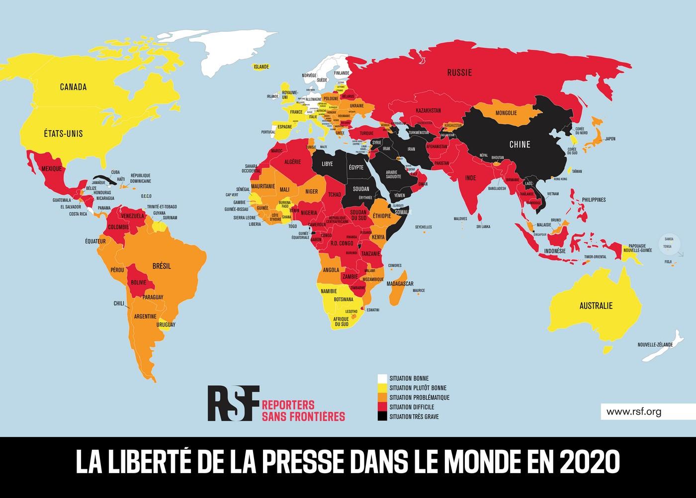 Liberté Presse Monde 2020