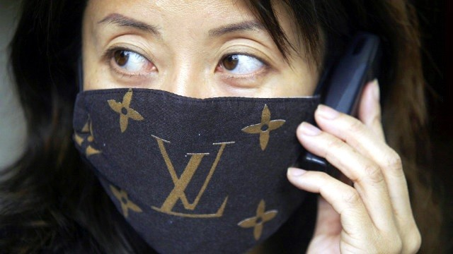 Masque Louis Vuitton