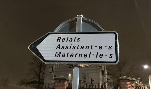 Panneau_Relais_Assistant_Maternel_Écriture_inclusive_rue_Dalayrac_Fontenay_Bois