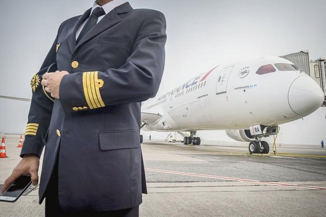 Pilote Air France