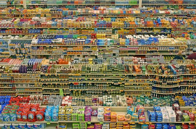 Vente de masse - hypermarché - surconsommation