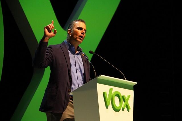 Acto de Vox en Vistalegre