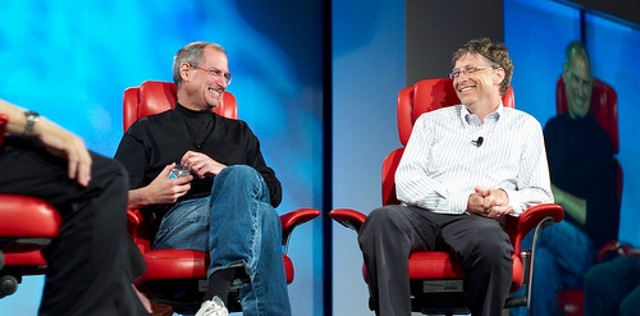 Bill Gates - Steve Jobs