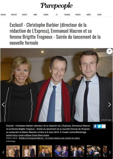 Christophe Barbier - Emmanuel Macron