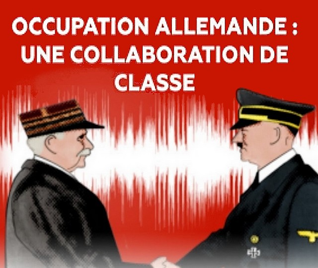 Collaboration Pétain Hitler