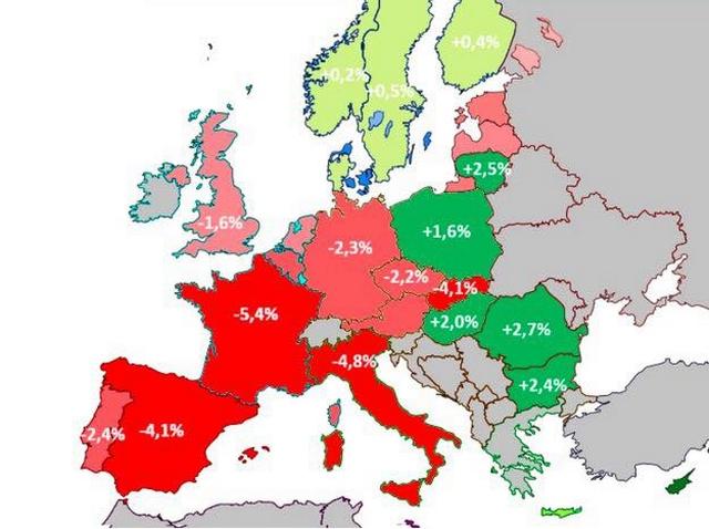 Covid19 - récession économique Europe