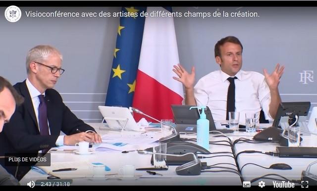 Emmanuel Macron - Franck Riester