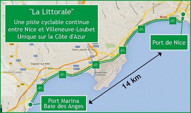 La Littorale - Nice port - Villeneuve-Loubet