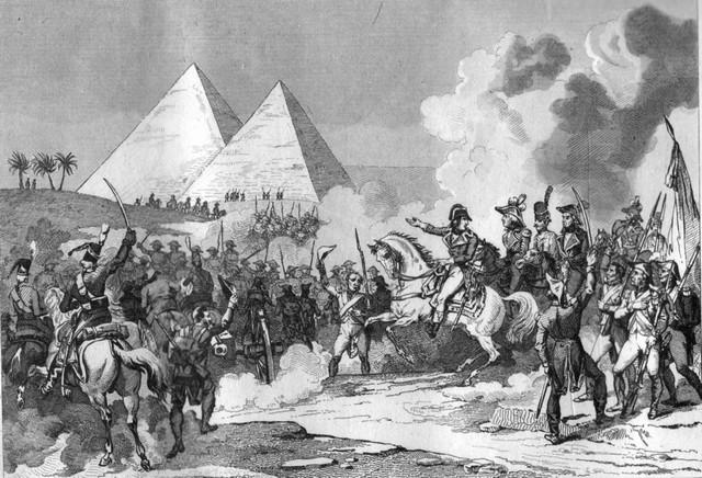 Napoléon Bonaparte - bataille pyramides