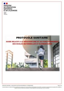 Protocole sanitaire Éducation nationale