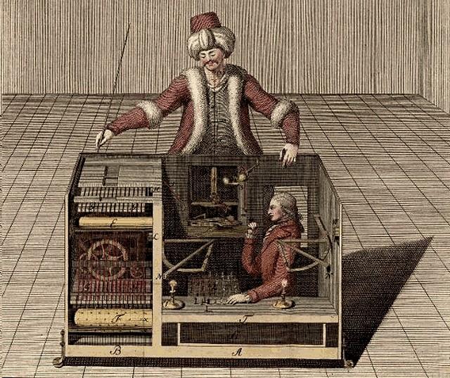Turc mécanique - automate