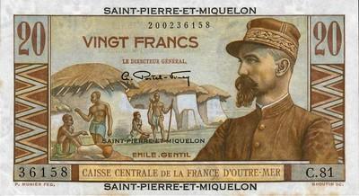 Billet Émile Gentil
