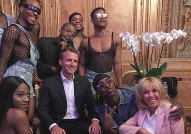 Fête musique Élysées juin 2018 Macron