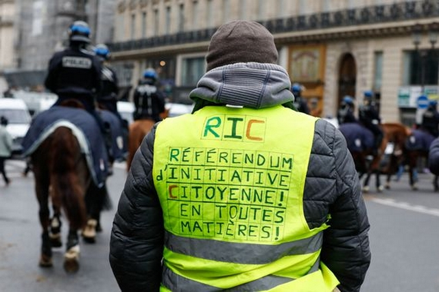 Gilets Jaunes - Référendum Initiative Citoyenne - RIC
