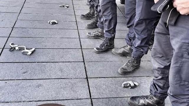 Manifestation policiers