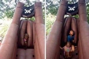 Parc attractions enfants - sexe