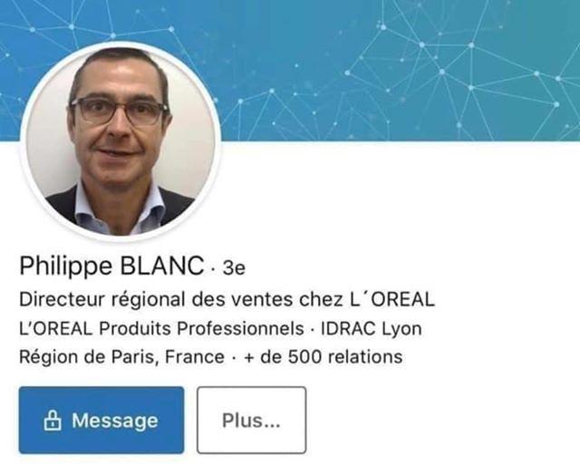 Blanc - directeur Oréal