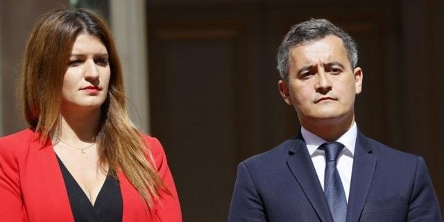 Gérald Darmanin - Marlène Schiappa