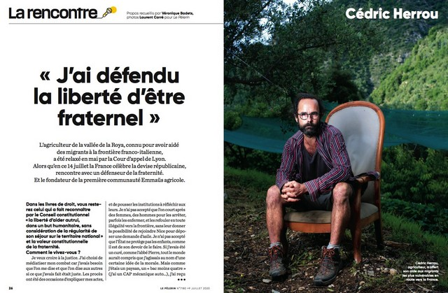 Le Pélerin - Cédric Herrou