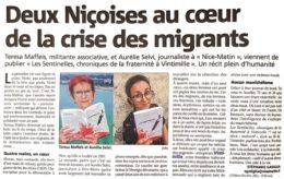 Nice-Matin 23 juillet 2020 immigration