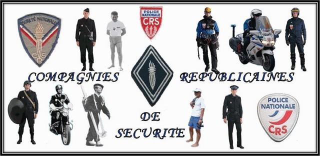Compagnies Républicaines Sécurité - CRS