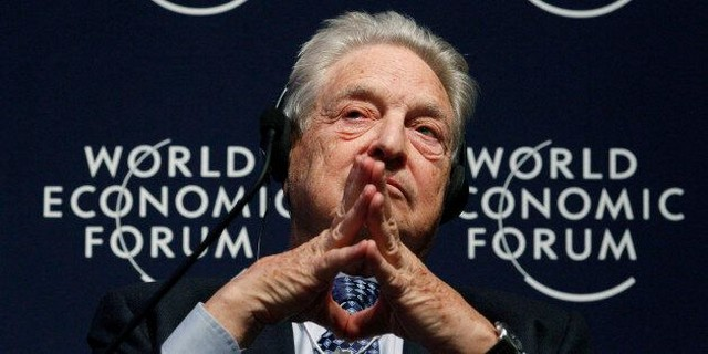 Forum Économique Mondial - George Soros