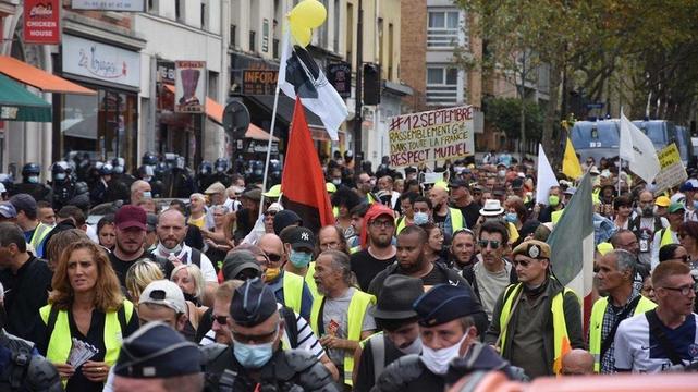 Gilets Jaunes Paris août 2020