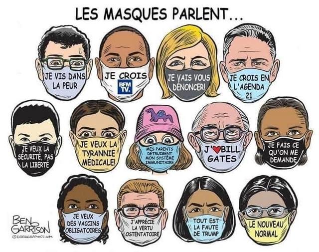Les masques parlent