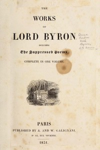 Lord Byron - Darkness