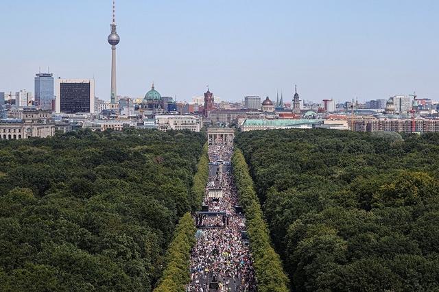 Manifestation Berlin - Contre le masque et la peur - Juillet 2020