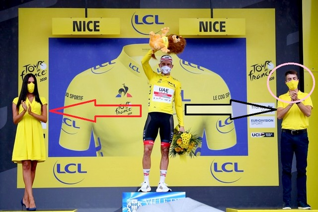 Tour de France - Arrivée Nice 29 août 2020