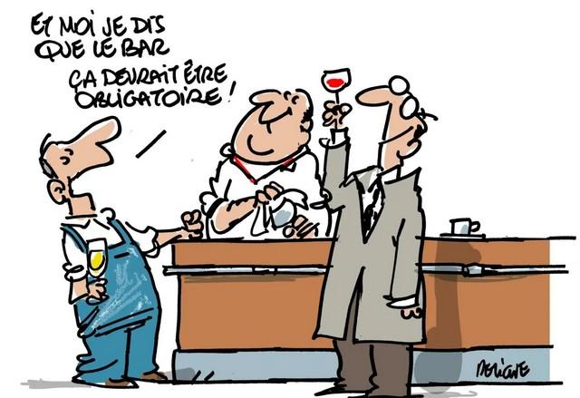 Bar obligatoire