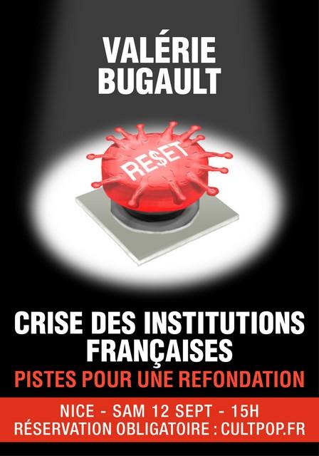 Culture Populaire - Valérie Bugault - Nice samedi 12 septembre 2020